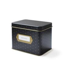 Polka Dot Recipe Box