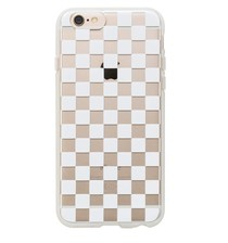 Clear Checkers Case iphone 6 Plus