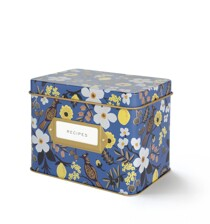 Capri Floral Recipe Box