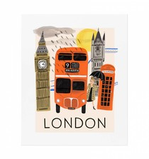 Travel London 40x50